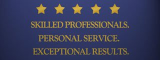 Skilled Professionals. Personal Service. Exceptional Results.