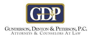 Gunderson Denton & Peterson Logo Sized For Mobile Browsing
