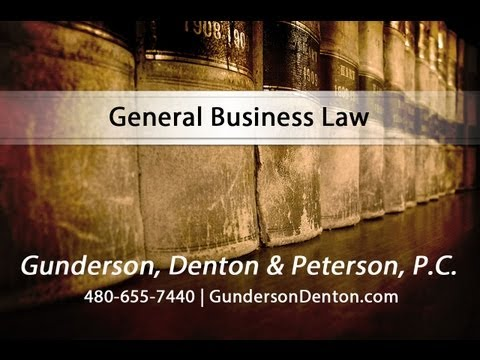 General Business Law at Gunderson, Denton & Peterson, P.C.