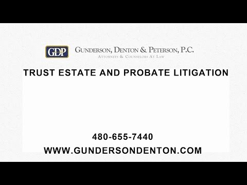 Trust Estate and Probate Litigation