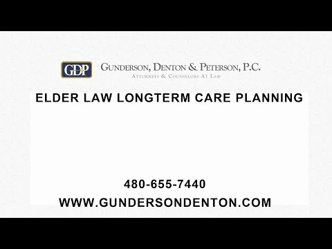 Elder Law Long Term Care Planning