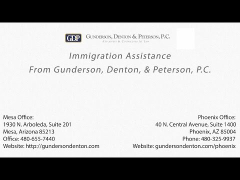 Immigration Assistance from Gunderson, Denton, & Peterson, P C