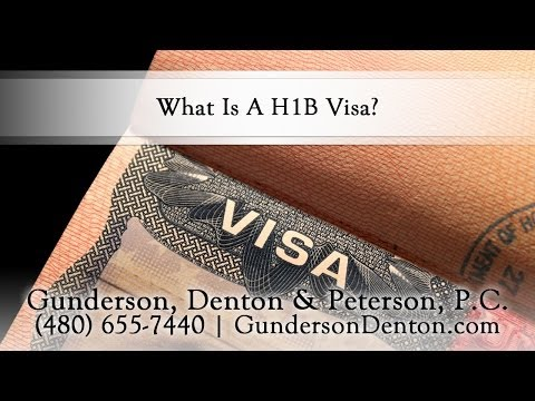 What Is A H1B Visa?