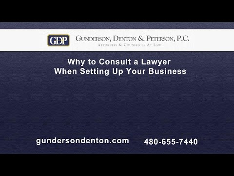 Why You Should Consult a Lawyer to Set Up Your Business | Sterling Peterson