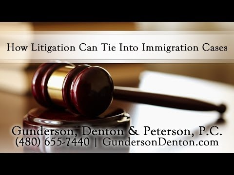How Litigation Can Tie Into Immigration Cases