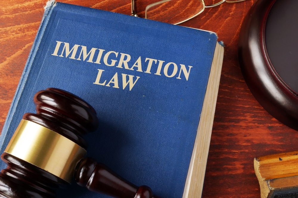 International Business and Immigration Lawyers Hand On Globe