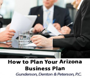 How To Plan Your Arizona Business Plan